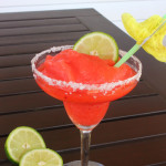 Strawberry Lemonade Frozen Margaritas