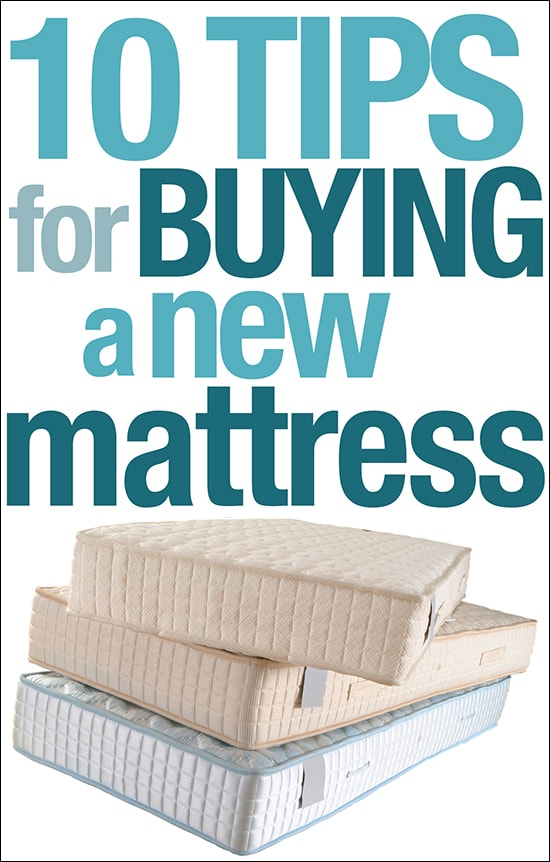 three mattresses isolated