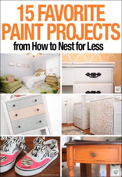 15 favorite paint projects