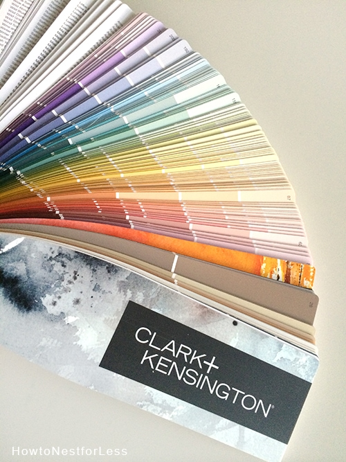 clark and kensington color swatches