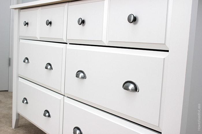 craft room white sauder dresser