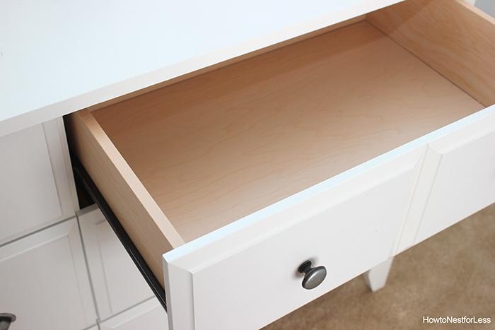craft room white storage dresser