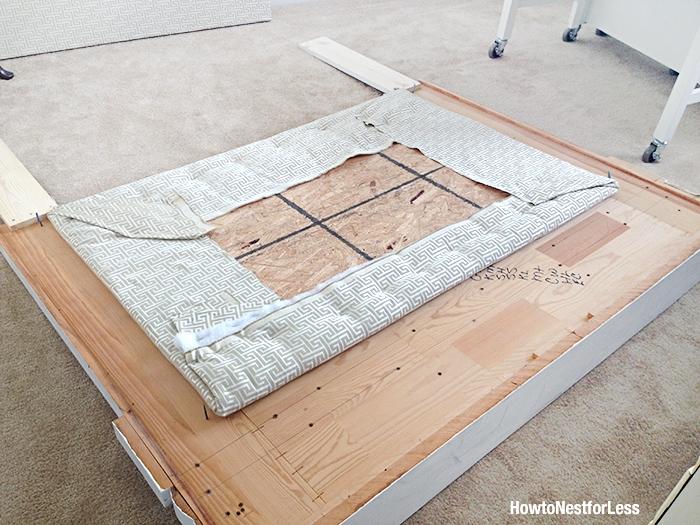fireplace mantel bedroom headboard