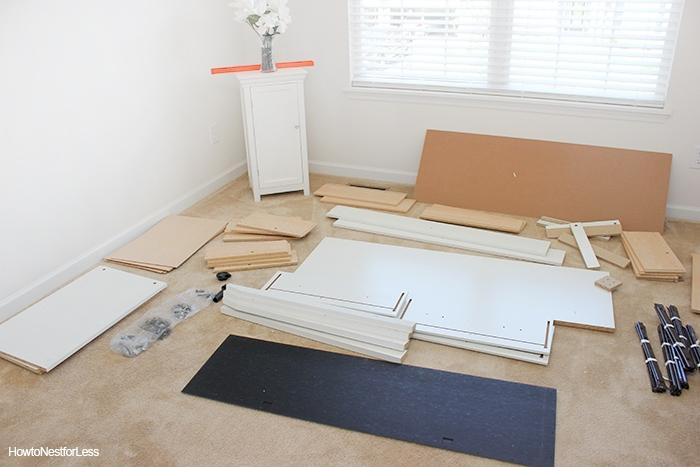 sauder furniture dresser assembly