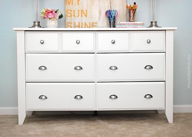 white-sauder-craft-room-dresser