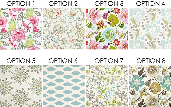 CRAFT ROOM CURTAIN OPTIONS