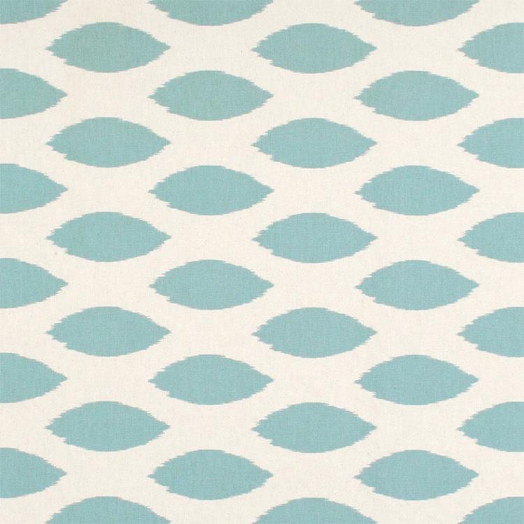 Premier Prints Chipper Village Blue Natural Fabric
