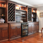 Living Room Wine Cabinet Built Ins