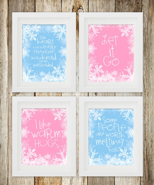 Frozen Quote Free Printables - How to Nest for Less™