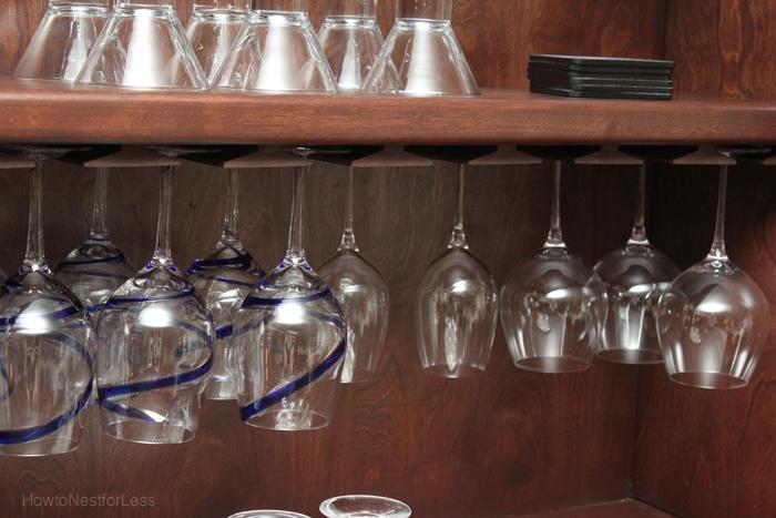 wine cabinet built in
