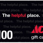 $100 Ace Hardware Gift Card GIVEAWAY!