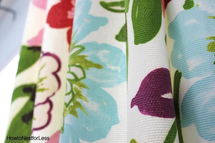 braemore gorgous petal fabric curtains