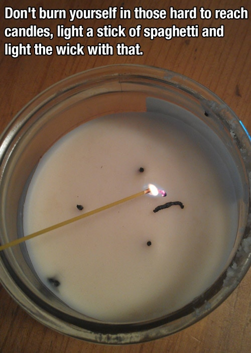 candle life hack