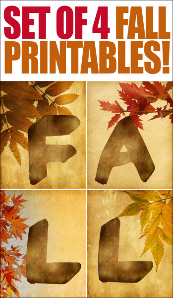 Fall free downloadable prints.