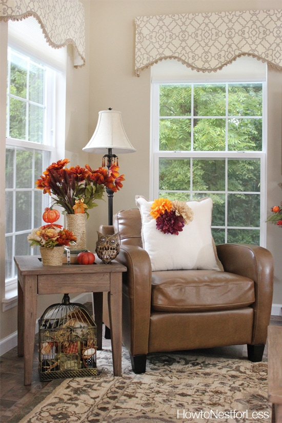 Fall Decorating on a Budget How to Nest for Less
