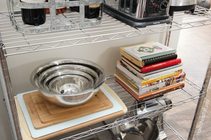Kitchen Wire Shelving Unit