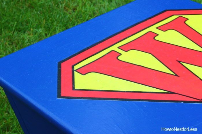superhero kids toy box