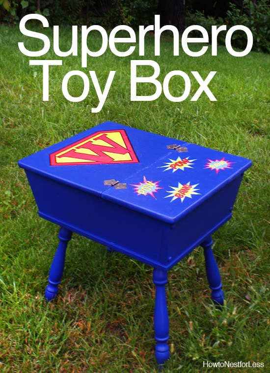 superhero kids toybox