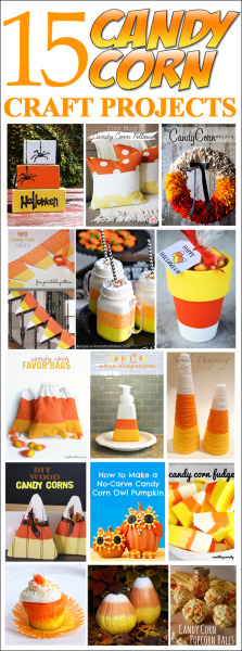 15 candy corn craft projects