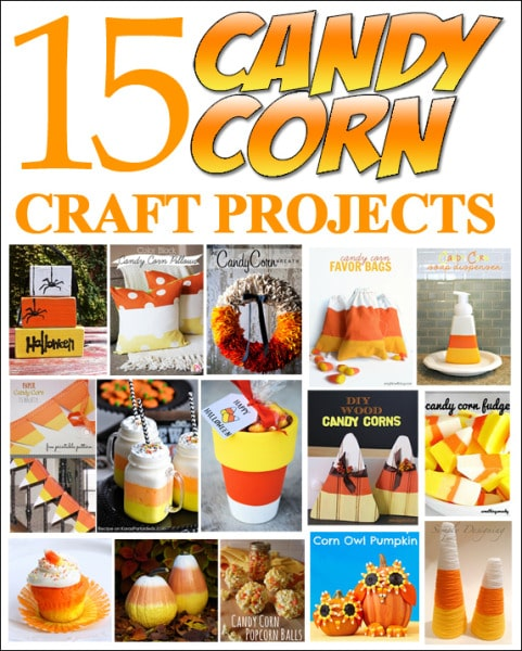 15 candy corn projects