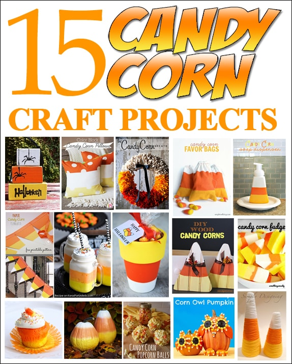 15 candy corn projects  sc 1 st  How to Nest for Less & Get Inspired: 15 Candy Corn Projects - How to Nest for Less™
