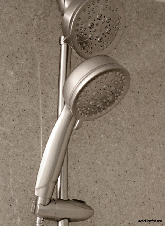 bathroom moen shower fixtures