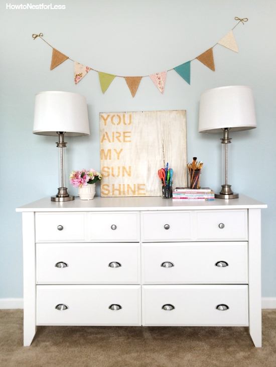 One Dresser, Six Ways
