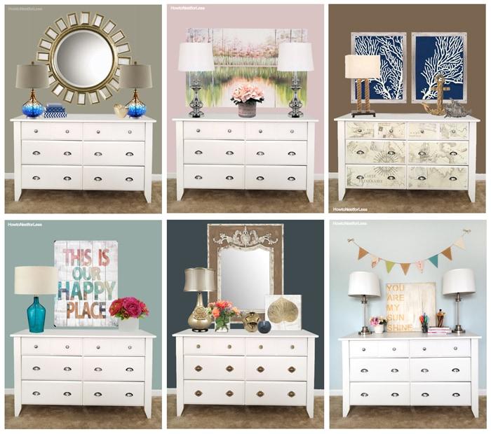 dresser style ideas
