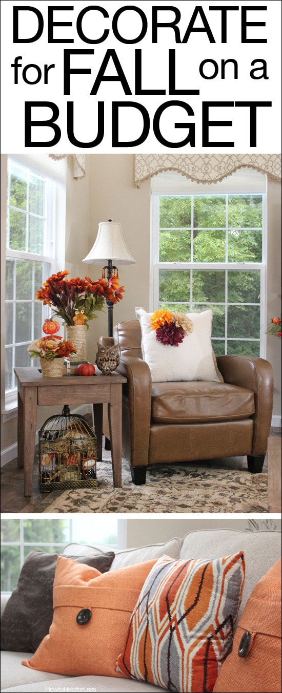 Fall decorating on a budget how to nest for less for Decorate my photo