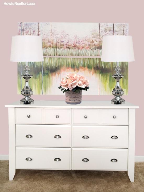 girly dresser