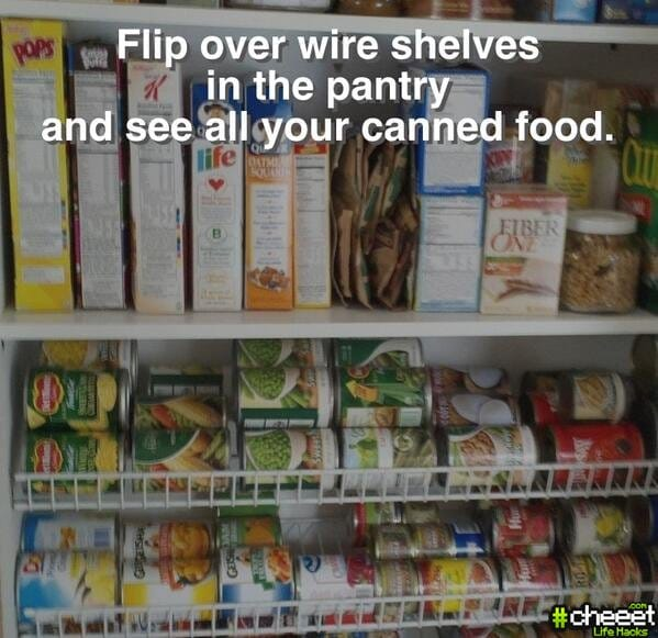 Cheeetcom Easy Pantry Makeover Life Hack Hacks