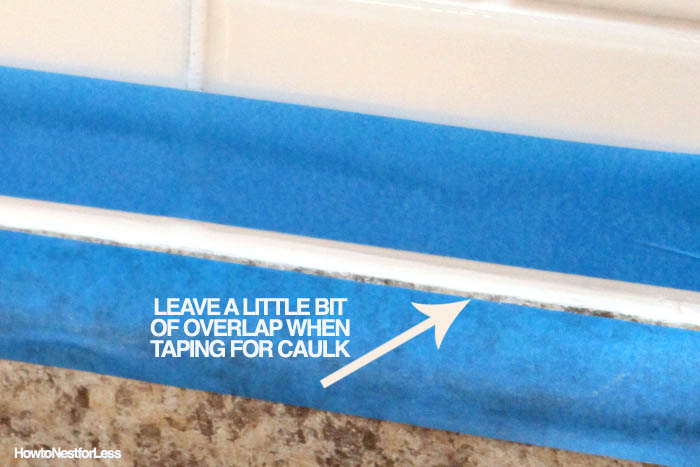 HOW TO caulk like a professional
