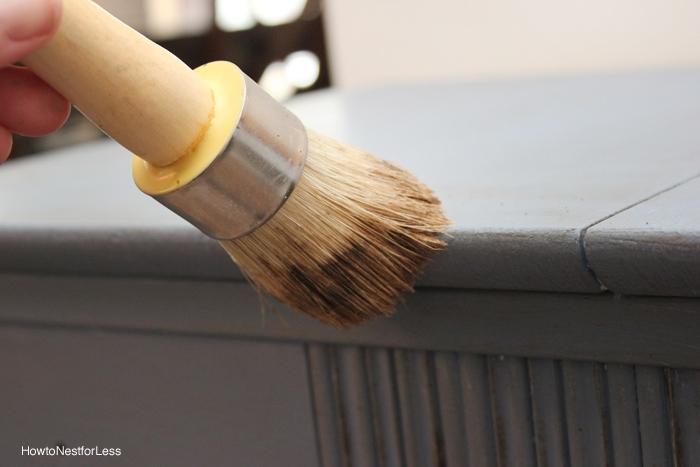 annie sloan wax brush