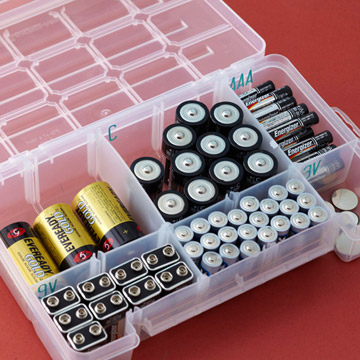 battery storage organization