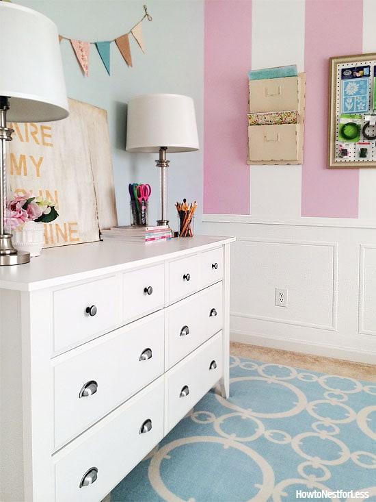 craft room makeover design