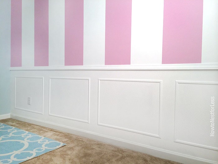 craft room picture frame moldings