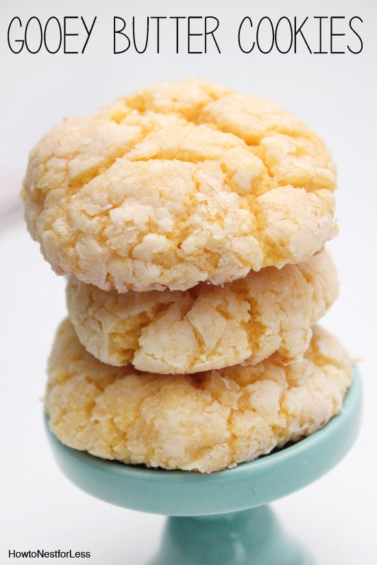 Gooey butter cookie recipe how to nest for less