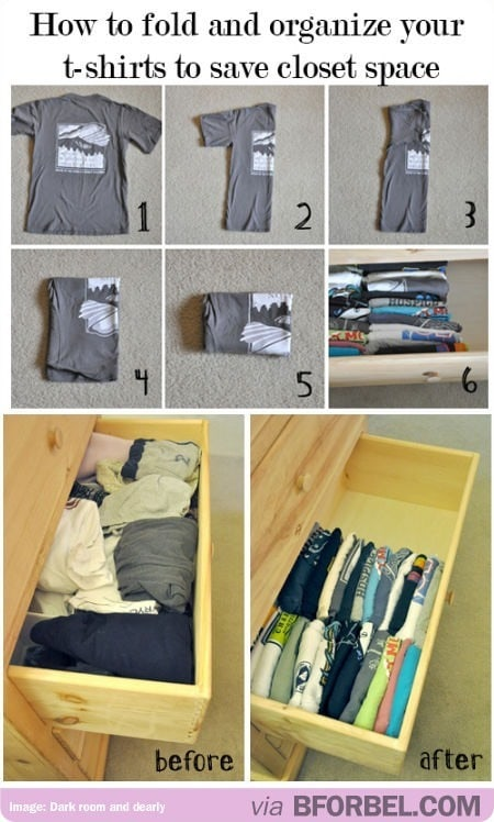 how to fold laundry