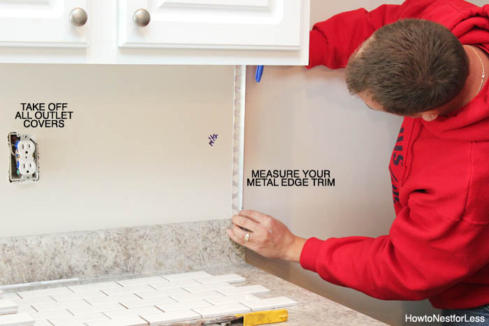 Famous How to Install a Kitchen Backsplash - The Best and Easiest Tutorial NT13