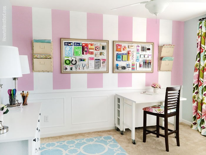 new craft room makeover