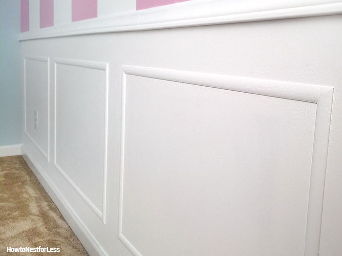 white picture frame molding
