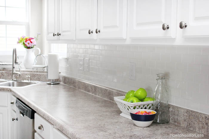 How To Caulk Like A Pro Tutorial How To Nest For Less Mesmerizing Caulking Kitchen Backsplash