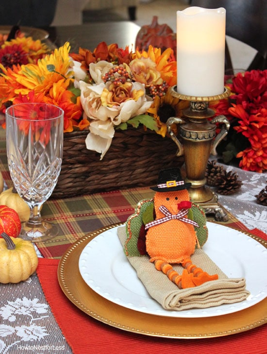 affordable thanksgiving table setting ideas : table settings for thanksgiving ideas - pezcame.com