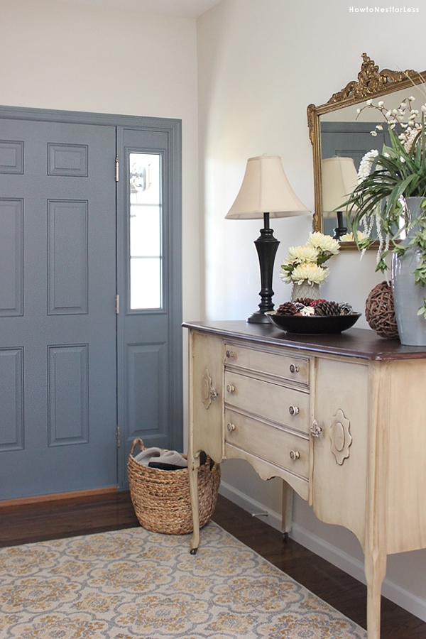 Gray Foyer Colors : Entryway foyer makeover how to nest for less™