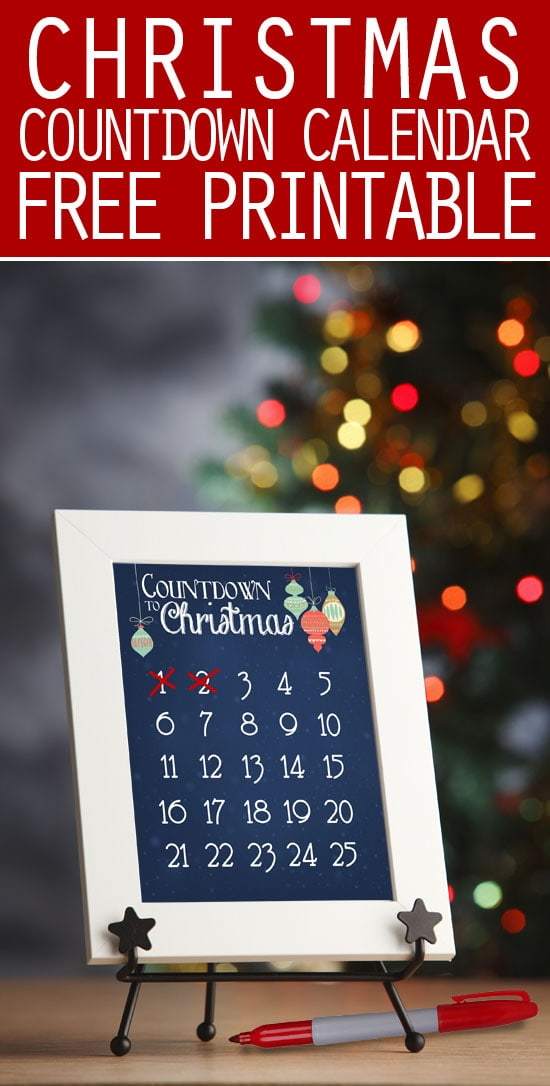 Calendar Countdown Wallpaper : Christmas countdown calendar free printable how to nest