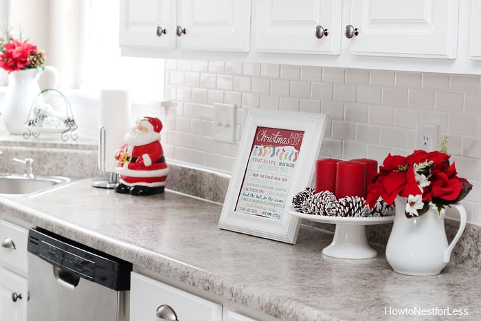 Christmas Kitchen Décor - How to Nest for Less™