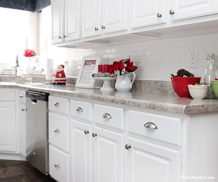 Christmas kitchen d cor how to nest for less for Decor for kitchen