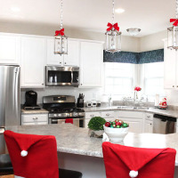 christmas kitchen makeover