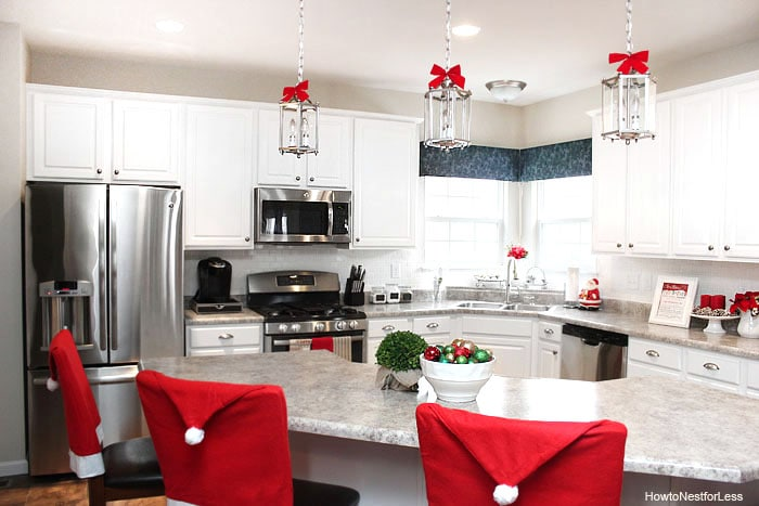 christmas kitchen makeover - Christmas Kitchen Decor