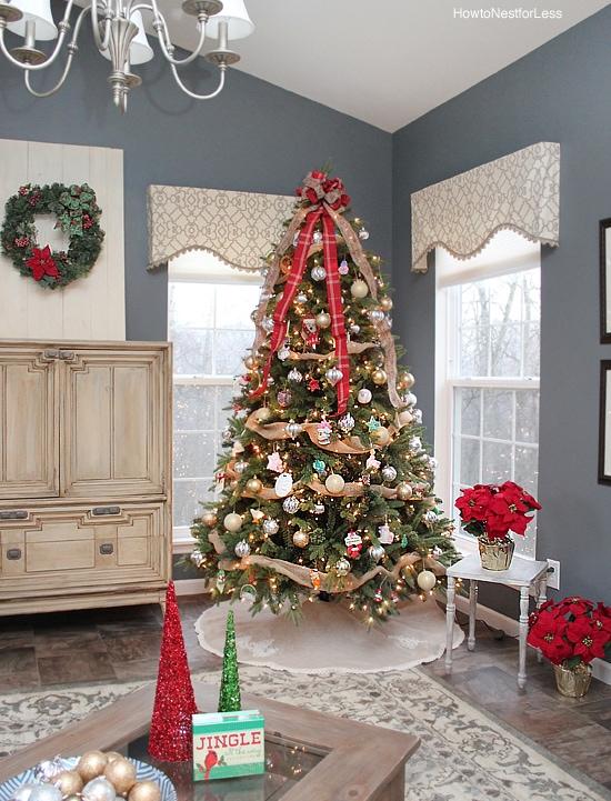 christmas tree sun room